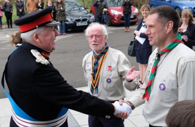 Lord Shuttleworth greeted by our GSL