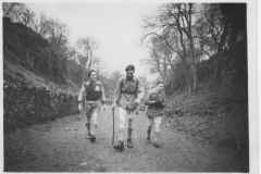 Day hike from Millhead to Warton - Barry Ayre, Tony Bradburn & Frank Walmsley. But who took the photograph?