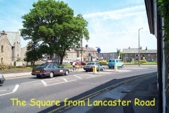 The Square, from Lancaster Road